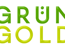 Grün + Gold Logo