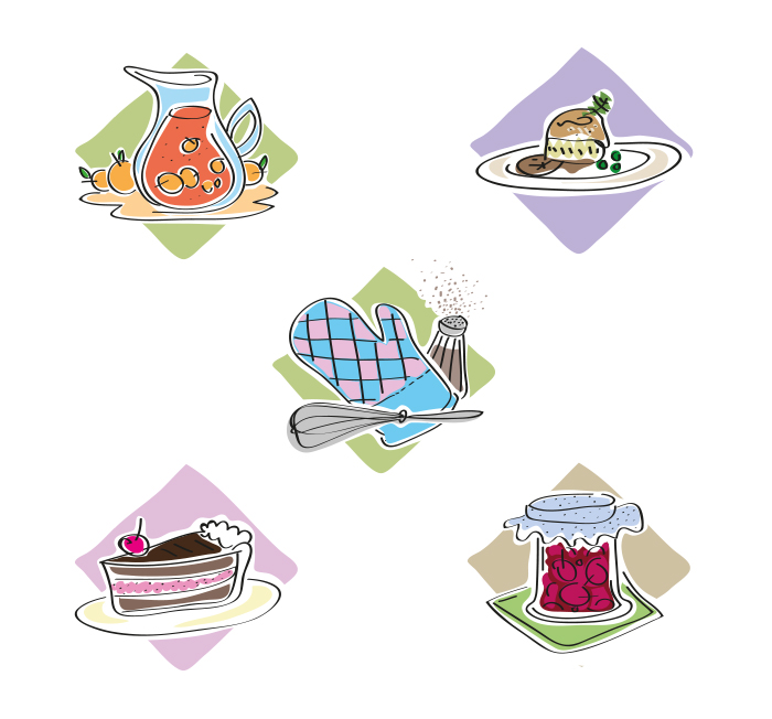 Gourmetbuddies Icons