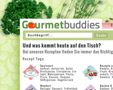 Gourmetbuddies Website