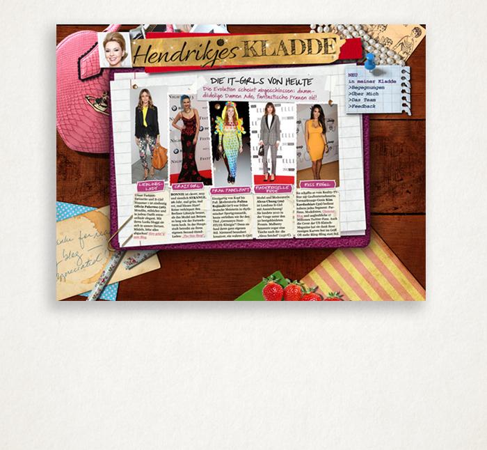Stylebook Hendrikjes Kladde